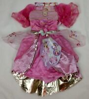 Barbie And Three Musketeers Costume Corinnes Dress Girls Pink Dress Sz 4-6X NEW