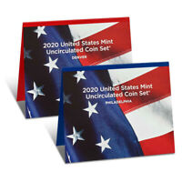 2020 United States Mint Uncirculated Coin Set (20RJ)