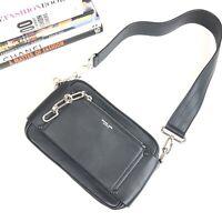 Michael Kors Collection Bag Black Camera Shoulder Handbag Chain Leather Women's