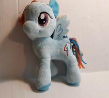 My Little Pony Rainbow Dash Rainbow  Lightning Bolt Plush 2013 Cloth Hair