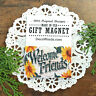 Welcome Friends * Gift * Magnet * USA * DecoWords * New in Pkg * Party Favor