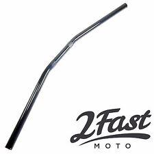 "2FastMoto Drag Handlebars 7/8"" Diameter Black Motorcycle Cruiser Chopper Honda"