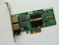 HP NC360T 412651-001 412646-0012 PORTA Gbit PCIe Adattatore Staffa standard