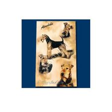 Inchiostro Roller Penna cane razza Ruth maystead Sottile Linea-Airdale Terrier DOG