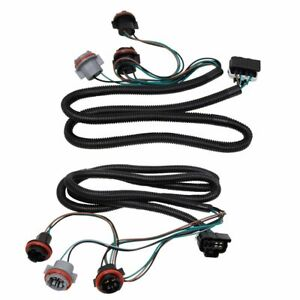 Tail Light Lamp Wiring Harness LH RH Pair for Chevy Silverado Pickup Truck New