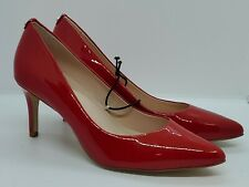 Kate Spade New York Vida Heels Womens Patent Leather Red Pumps Size 8.5 M NWOB