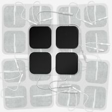 20-Pack Square TENS Unit Electrodes Electro Pads for TENS Therapy 2.0mm Plug NEW