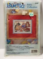 Vintage Bucilla Baby Collection Storytime 41494 Cross Stitch Kit NIP Free Shippi