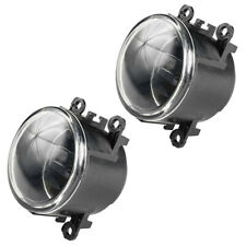 Pair For Ford Focus 2012-2014 Clear Lens Front Bumper Fog Lights Lamps Bulbs