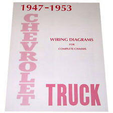 1947 1948 1949 1950 1951 1952 1953 Wiring Diagram Booklet Chevy Pickup Truck