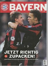 Orig.PRG   Champions League  2005/06  BAYERN MÜNCHEN - AC MAILAND  1/8 FINALE