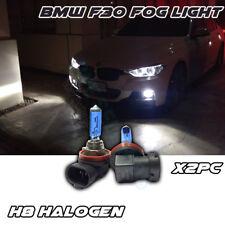 x2 H8 HALOGEN FOGLIGHT BULBS BMW F30 6000K SUPER BRIGHT WHITE XENON DRL BULBS