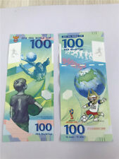LOT 10 PCS,Russia World Cup Memorial Test Banknote/UNC FREE SHIPPING