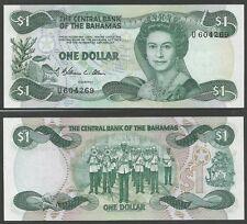 BAHAMAS - 1 Dollar L.1974 (1984) Pick 43a UNC