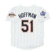 Trevor Hoffman San Diego Padres 1998 World Series Home Jersey Blanco Hombre (M-2XL)