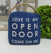 """Love is an open door""  door stop 1.5kg - 6033love"