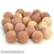 Hangerworld™ 50 Cedar Wood Balls Natural Moth Insect Repellent Deterrent Clothes