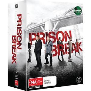 PRISON BREAK : Complete Season 1 2 3 4 + 5: Event Series : NEW DVD