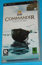 Commander - Europe at war - Sony PSP - PAL