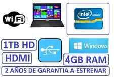 "PORTATIL ASUS 15"" INTEL 1 TB, grafica HDMI 1756mb WINDOWS WIFI, factura garantia"