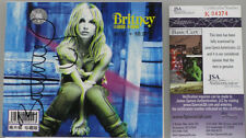 BRITNEY SPEARS Hand Signed CD Cover 'ANTICIPATING' + JSA COA *BUY GENUINE*