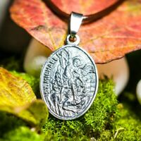 Erzengel Michael Medaillon aus echte Silber 925