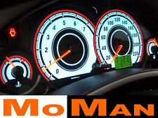 FORD FOCUS glow reverse plasma dials cluster white face gauge tacho INDIGLO MK1