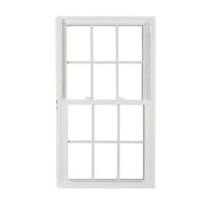 27.75 In. X 53.25 In. 70 Series Pro Double Hung White Vinyl Window Buck Frame