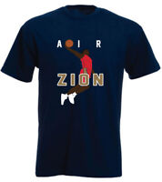 ZION WILLIAMSON ***AIR ZION*** T-SHIRT NEW ORLEANS PELICANS