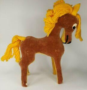 "Dakin Vintage Dream Pets 7"" Brown Horse Sawdust Plush"