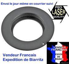 BAGUE ADAPTATION  M42->CANON EOS HAUT DE GAMME LASER PRO QUALITY avec epaulement