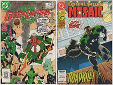 Green Lantern VF LOT (10) DC 1988-2007 Corps ION Mosaic Sinestro Supergirl Perez