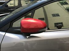 MIT TOYOTA C-HR 2017-on outside door mirror cover trim-RED color painted
