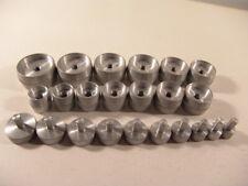 Quality Aluminum Case/Crystal Press Dies Watch Repair Tools: Lot of