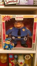 Mint The Simpsons Chief Wiggum Plush Doll & Keychain by Applause Rare Limited