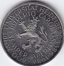 1986 Heidelberg 5 DM