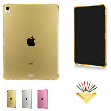 "Fr iPad 9.7""/12.9""/Mini/Air3/Pro 10.5""/11""Soft Rubber Clear Slim Back Case Cover"