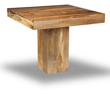 Mango 90cm Cube Dining Table (h48l)