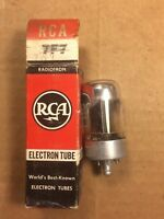 NOS NIB RCA / Sylvania 7N7 Loctal Vacuum Tube 1950s 2-hole Tests Strong Balanced