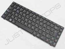 NUOVO Lenovo Ideapad G585 Z380 Tastiera Bulgaro Ezik klavishyen NERO