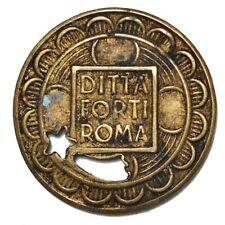 ITALIA ROMA Gettone DITTA FORTI - Contromarca Stella Cometa Countermark Comet
