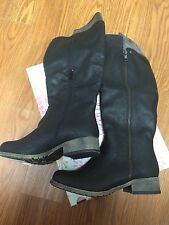 "Women's Jellypop ""Lisette"" Black  Boots Size 6m Smooth JMDQSM Retail $100"