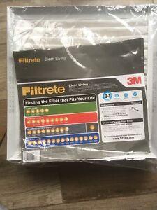 Filtrete Clean Living Basic Dust AC Furnace Air Filter, MPR 300, 18 x 18 x 1 NEW
