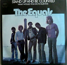 "7"" 1972 rare! the Equals: stand up and be counted"
