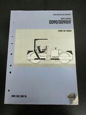 Volvo Construction Equipment Parts Catalog Dd90dd90hf Nos 43933019