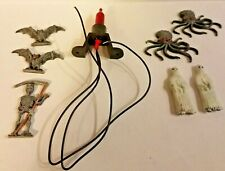 Grim Reaper Ghosts Bats Octopuses Miniature Figures Flicker Light Haunted House