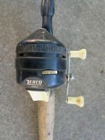 Vintage Zebco Combo 202 Spincasting Reel and Centennial 4020 Rod U.S.A