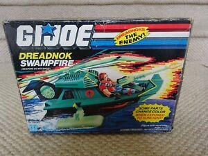 GI JOE DREADNOK SWAMPFIRE MIB HASBRO 1986