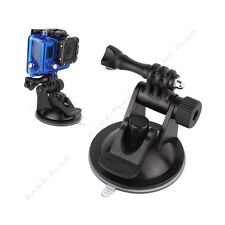 Car Vacuum Suction Cup w/ Built-in Adapter Mount for GoPro Hero 5 4 3+ 3 Camera