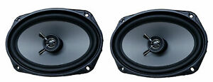 200 Watt 6 x 9 Inch 6x9 Car Replacement Speaker Coaxial Single Front Door Pair